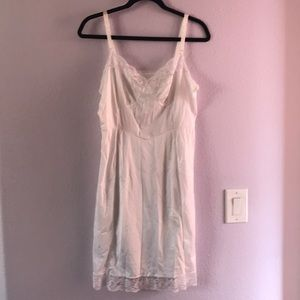 White vintage slip/night gown